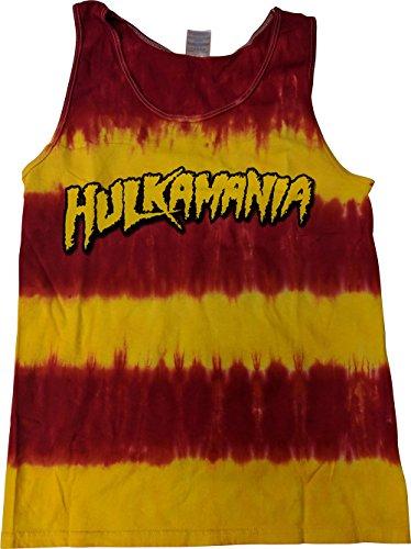 Hulk Hogan Hulkamania Tye Die Mens Tank Top by Hybrid Tees