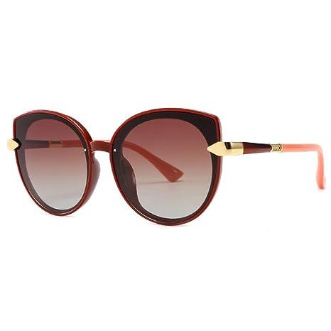 Yangjing-hl Gafas de Sol polarizadas de Moda Mujer Europa y ...