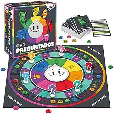 Diset- Preguntados (46934): Amazon.es: Juguetes y juegos