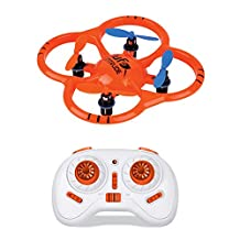 RC Quadcopter Drone with HD Camera Height-fixed 6-axis Gyroscope 2.4GHz Headless FPV WiFi Real-time Image Transmission Remote Control Aircraft Internal Battery (USB)