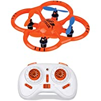 Micro RC Drone 2.4G Mini Pocket Quadcopter with 6-Axis Gyro Switchable Controller RTF Headless Helicopter Kids Toys Aircraft Flying UFO