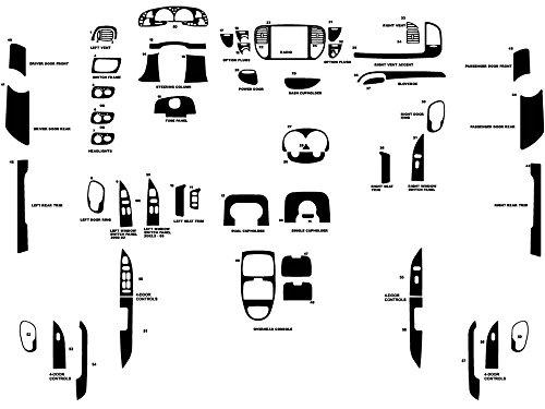 rdash-dash-kit-decal-trim-for-ford-f-150-2000-2003-wood-grain-burlwood-honey