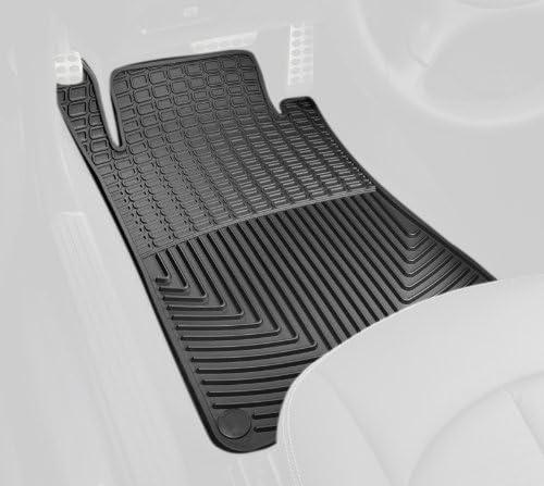 Black WeatherTech Trim to Fit Front Rubber Mats for Mercedes-Benz CLK320