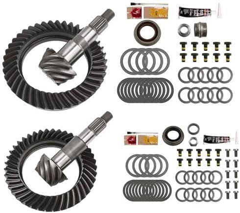 5.38 RING AND PINION GEARS /& INSTALL KIT PACKAGE DANA 44 JK RUBICON FRONT REAR