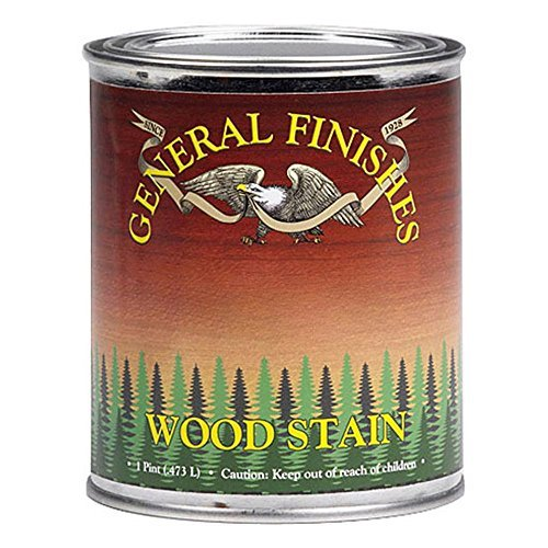 General Finishes WPPT Water Base Wood Stain, 1 pint, Pecan