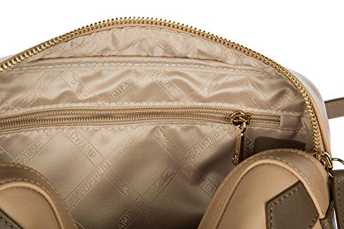 Longchamp borsa donna a tracolla pelle borsello beige