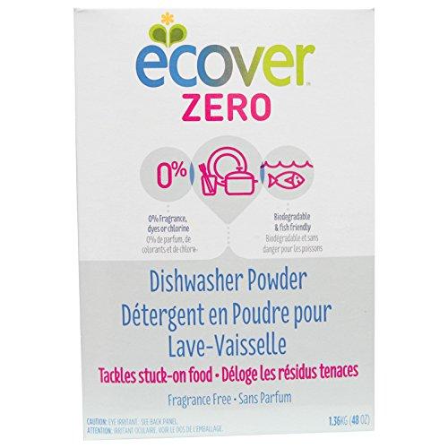 Ecover, Dishwasher Powder Zero, 48 Ounce