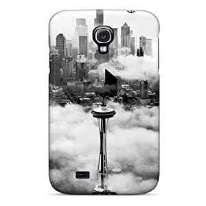 Galaxy S4 Cases Covers Skin : Premium High Quality Seattle Space Needle Tower Cases