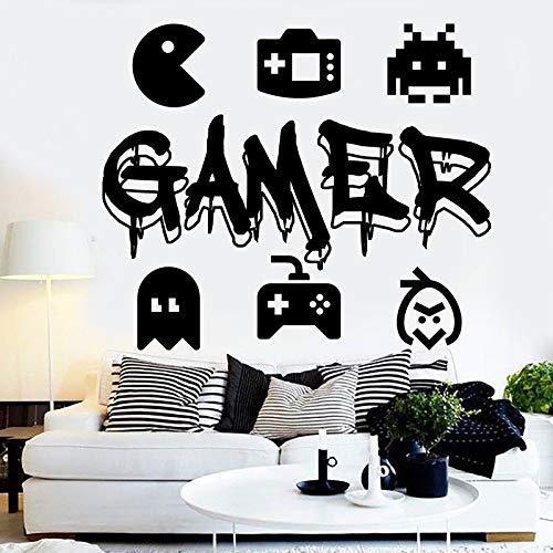 zqyjhkou Eat Sleep Game Controller Videojuegos Tatuajes de ...