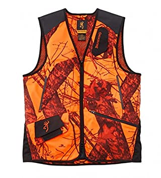 Browning Chaleco Xpo Light moblz Naranja tiro - Chaleco Caza Mossy Oak Naranja Camo, large: Amazon.es: Deportes y aire libre