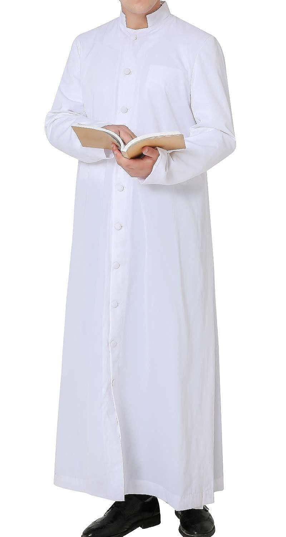 GGS Priester Talar f/ür Klerus Kanzel Roman Soutane