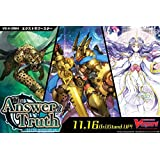 カードファイト!!ヴァンガード エクストラブースター 第4弾 The Answer of Truth VG-V-EB04 BOX