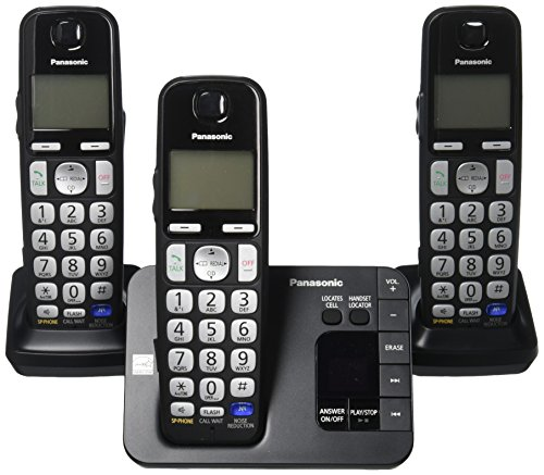 Panasonic KX TGE233B Expandable Cordless Digital product image