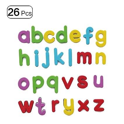 Imanes de alfabeto imanes de nevera letras mayúsculas magnéticas ...