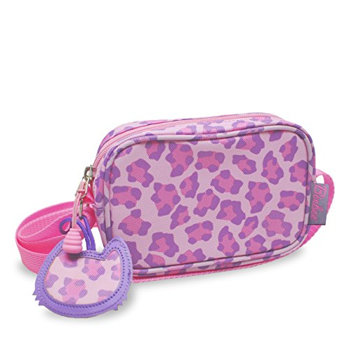 bixbee-sassy-spots-leopard-purse-pink