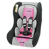 Autositz von 0bis 25kg, Gruppe 0/1/2, hergestellt in Frankreich, Sitzverkleinerer für Neugeborene, 3Sterne im TCS-Test, mit Kopfkissen, Gurtpolster und Fünfpunktgurt