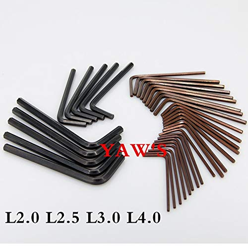 Price comparison product image 1 lot 50pcs L3.0 Screw Driver Screwdriver for Xbox Red flag wrench Inner six
