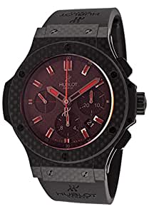 Men%27s Big Bang Automatic Chrono Black Carbon Fiber Dial - Hublot Watch
