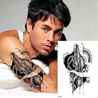 3pcs Temporary Tattoo Cross Halloween Tattoo Water Transfer One Piece Tattoo Big Body Art Tatoo Back Black Tatto 3d Tattoos Sticker 3pcs 7 Amazon Co Uk Kitchen Home