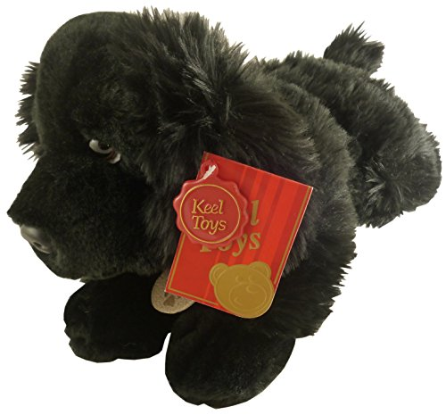 Lupo the Black Cocker Spaniel Dog Stuffed Animal