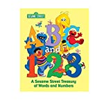 img - for ABC and 1,2,3: A Sesame Street Treasury of Words and Numbers (Sesame Street) book / textbook / text book
