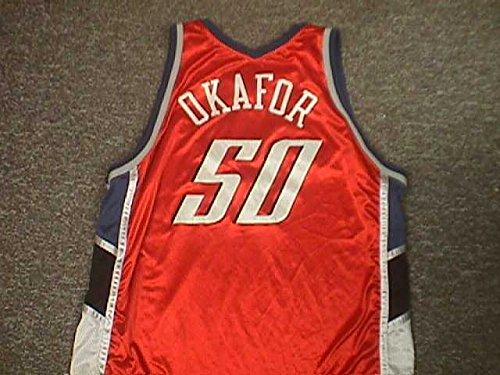 emeka-okafor-charlotte-bobcats-orange-game-jersey