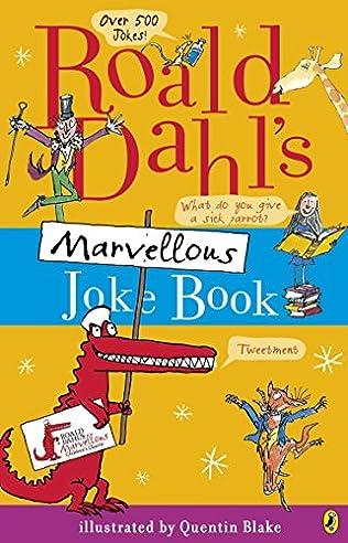 book cover of Roald Dahl\'s Marvellous Joke Book