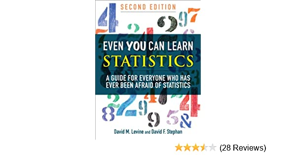 Amazon com: Even You Can Learn Statistics: A Guide for Everyone Who
