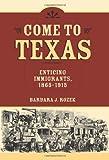 Come to Texas, Barbara J. Rozek, 1585442674