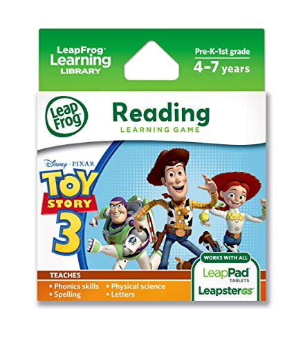 LeapFrog Disney-Pixar Toy Story 3 Learning Game (works with LeapPad Tablets & LeapsterGS) (Best Leappad Games For 3 Year Old)