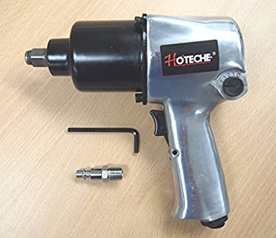 """1/2"""" Twin Hammer Heavy Duty Air Impact Wrench, 750lb-ft"""