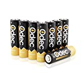 Odec AA Rechargeable Batteries, 8-Pack 2450mAh Ni-MH 1.2V Battery Pack