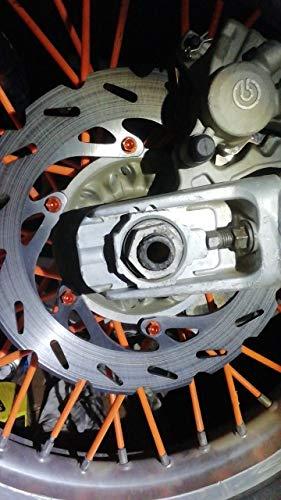 TARAZON MX Bremsscheibe hinten f/ür APRILIA MX 125 04-07//RS125 98-10//PEGASO 650 91-00//RS REPLICA 125 92-97
