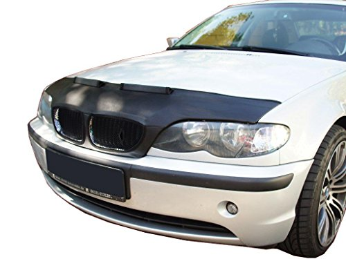 HOOD BRA Front End Nose Mask for BMW 3 E46 1998-2007 Bonnet Bra STONEGUARD PROTECTOR TUNING 2004 Bonnet