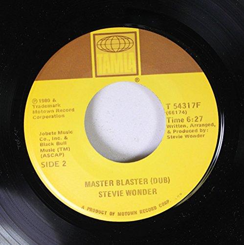 Stevie Wonder 45 RPM Master Blaster (Dub) / Master Blaster ()