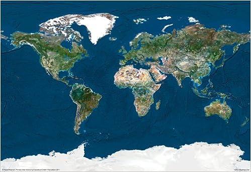 The World - Satellite View: Amazon.de: Fremdsprachige Bücher