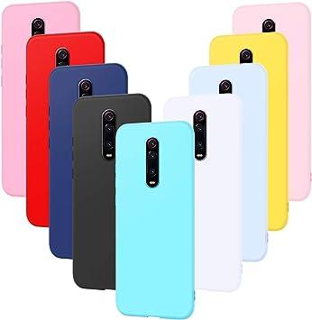 9X Funda Xiaomi Redmi K20 Pro, Caselover Suave TPU Silicona ...