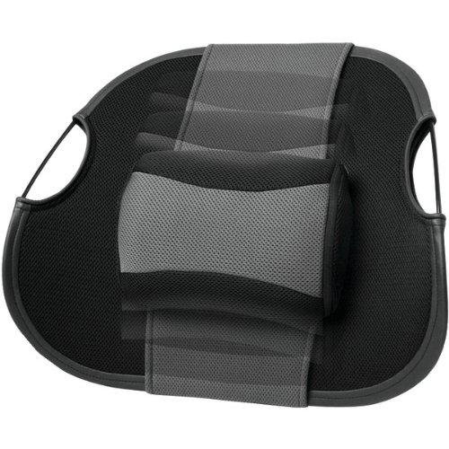 HoMedics Massaging Lumbar Support Rest, - Battery Homedics