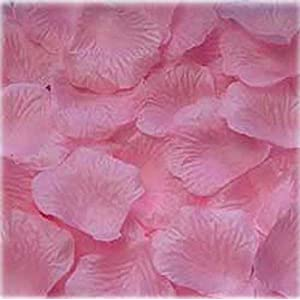 1000pcs Light pink Silk Rose Petals Bouquet Artificial Flower Wedding Party Aisle Decor Tabl Scatters Confett 83