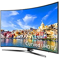 SAMSUNG UN55KU750DFXZA LED Curved 4K 120 MR Full HD Smart TV, 55 (Certified Refurbished)