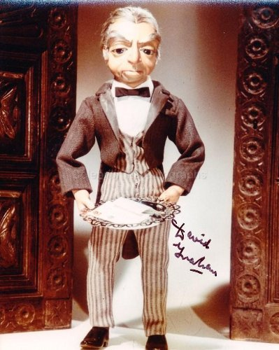 DAVID GRAHAM as The Voice Of Parker - Thunderbirds Genuine Autograph from Celebrity Ink