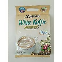 Kopi Luwak White Koffie Premium (3 in 1) Low Acid and Less Sugar Instant Coffee 20-ct, 400 Gram