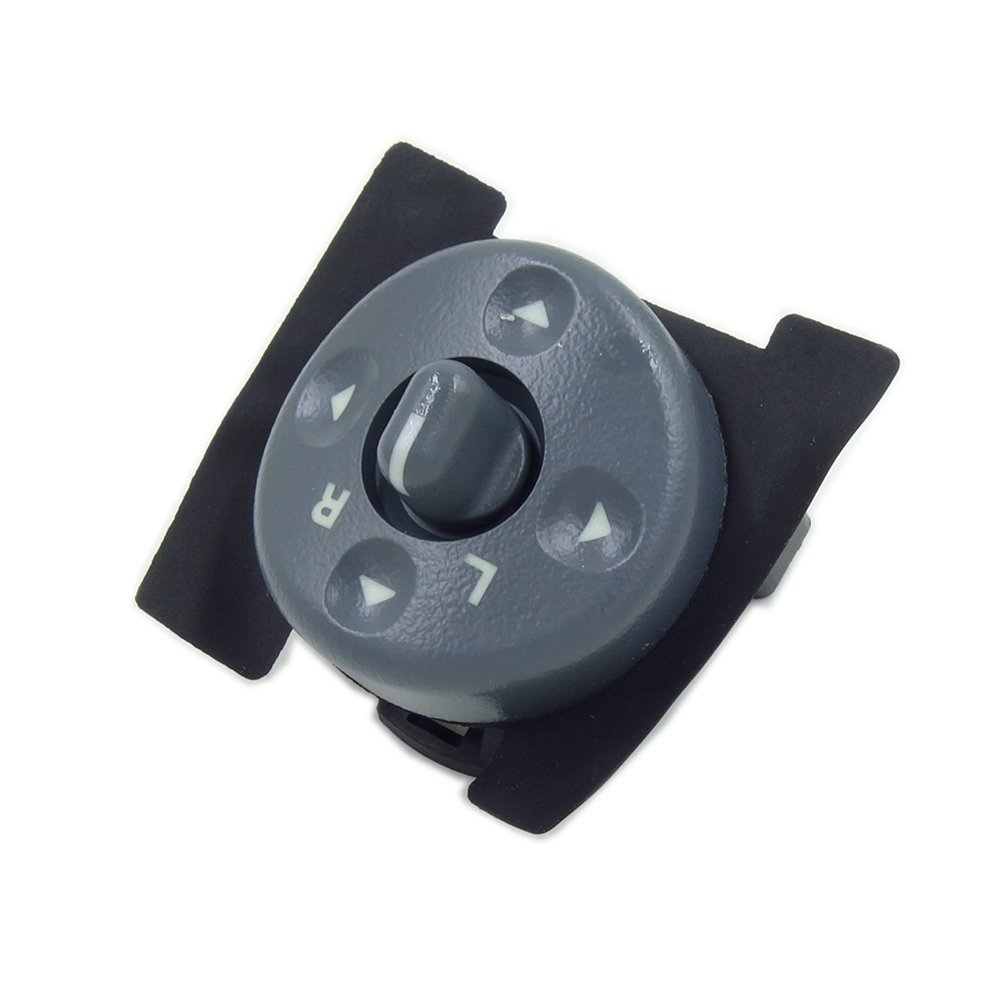 Power Auto Mirror Switch Fit for 1995-2000 GMC 1996-2000 Isuzu Hombre ElifeParts