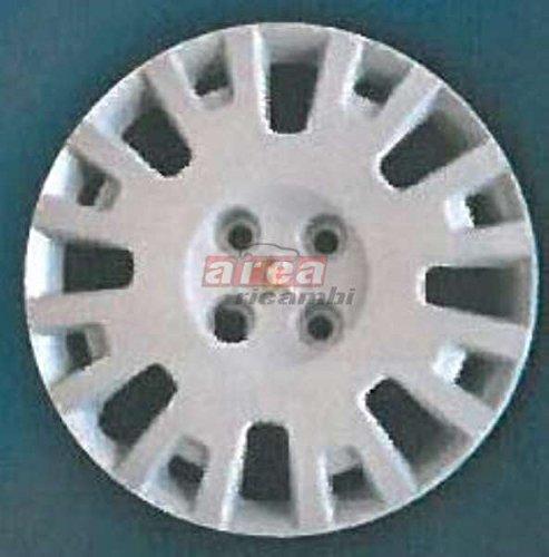 Copas Rueda 4 Piezas Peugeot New Bipper diámetro 15 Logo cromado Tapacubos: Amazon.es: Juguetes y juegos