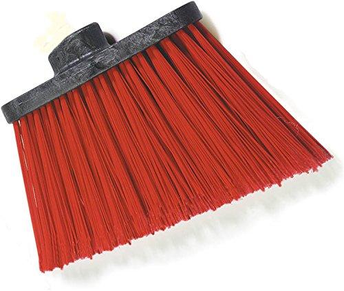 Carlisle 3686805 Duo-Sweep UnFlagged Angle Broom Head, 8'', Red by Carlisle (Image #6)