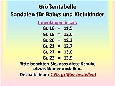 Gibra Leder Sandalen Fur Babys Und Kleinkinder Weiss Gr 18 Amazon