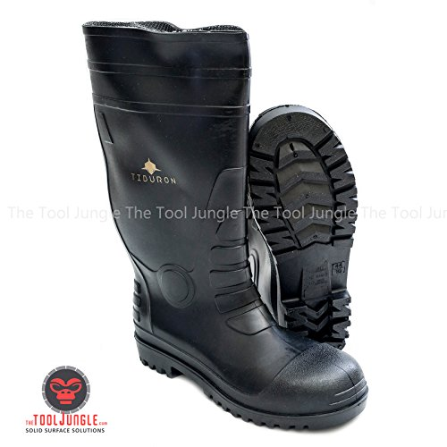 Steel Toe Premium rubber boots (10) (Toe Steel Jungle)