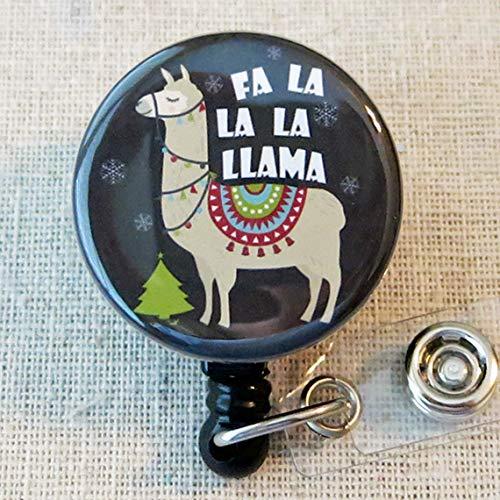 Nurse Badge ID Holder Pediatric Badge Holder Funny Holiday Badge Reel Teacher ID Badge Reel Santa Spy Camera Holiday Retractable Name Badge Holder SANTA CAM Christmas Badge Reel