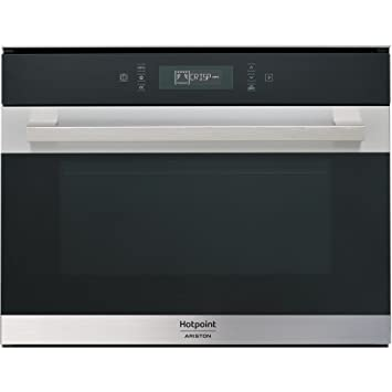 Hotpoint MP 776 IX HA Integrado - Microondas (Integrado, Microondas combinado, 40 L