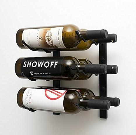 Amazoncom Vintageview Wall Series 6 Bottle Wall Mounted Wine Rack